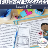 Fluency Passages: 1st Grade Edition Set 1 {Level E-J}