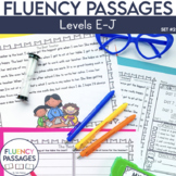 Fluency Passages: 1st Grade Edition Set 2 {Level E-J}