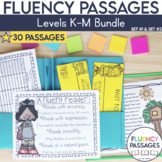 Fluency Passages 2nd Grade Bundle: Set 1 and 2 {Level K-M}