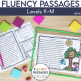 Fluency Passages: 2nd Grade Edition Set 1 {Level K-M}