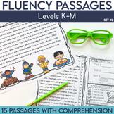 Fluency Passages: 2nd Grade Edition Set 2 {Level K-M}