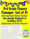 Fluency Passages- 3rd Grade GSE Social Studies (NEW) Europ