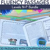Fluency Passages 3rd Grade Bundle: Set 1 and 2 {Level N-P}