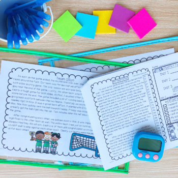 Fluency Passages: 3rd Grade Edition Set 1 {Level N-P}