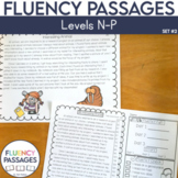 Fluency Passages: 3rd Grade Edition Set 2 {Level N-P}
