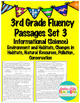 Fluency Passages 3rd Grade Informational BUNDLE- All 3 Sets!