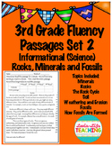 Fluency Passages- 3rd Grade Science- Rocks, Minerals, and Fossils, Soils