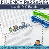 Fluency Passages 4th Grade Bundle: Set 1 and 2 {Level Q-S}