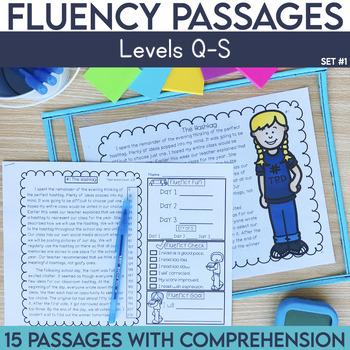 Fluency Passages For 3rd Grade Worksheets Teaching