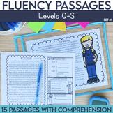 Fluency Passages: 4th Grade Edition Set 1 {Level Q-S}