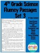 Fluency Passages 4th Grade Science BUNDLE- Informational with Words per Minute