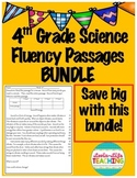 Fluency Passages 4th Grade Science BUNDLE- Informational w