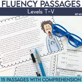 Fluency Passages: 5th Grade Edition Set 2 {Level T-V}