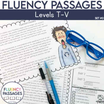 Fluency Passages: 5th Grade Edition Set 2 {Level T-V}