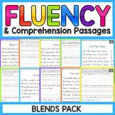 Blends Fluency Passages | Blends Worksheets