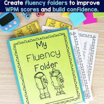 Fluency Passages: Set 1 Bundle- Kindergarten, 1st & 2nd Grade {Level A-M}