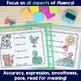 Fluency Passages: Kindergarten Edition Set 1 {Level A-D}