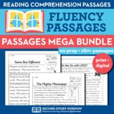 Fluency Reading Comprehension Passages & Questions MEGA Bundle Google Classroom