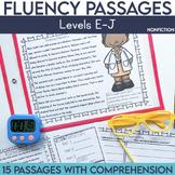 Fluency Passages: Non Fiction 1st Grade Edition {Level E-J}