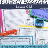 Fluency Passages: Non Fiction 2nd Grade Edition {Level K-M}