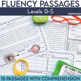 Fluency Passages: Non Fiction 4th Grade Edition {Level Q-S}