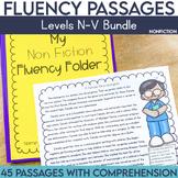 Fluency Passages: Non Fiction Bundle- 3rd, 4th & 5th Grade