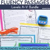 Fluency Passages: Non Fiction Bundle- Kindergarten-5th Gra