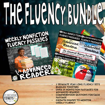 Fluency Passages, Nonfiction Fluency Passages, Bundled Set, Comprehension