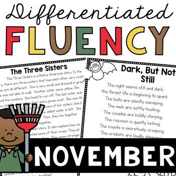 Fluency Passages (November)