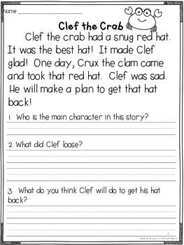 Fluency Passages & Phrases {Blends & Primer}