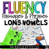 Long Vowels and Vowel Teams Fluency Passages and Phrases | Distance Learning