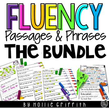 Fluency Passages and Phrases | Distance Learning
