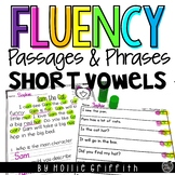 Fluency Passages & Phrases {cvc & pre-primer}