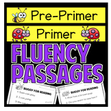 Fluency Passages Preprimer Primer First Grade