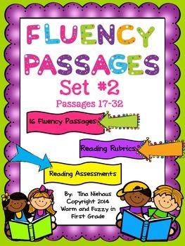 Fluency Passages Second Edition