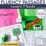 Fluency Passages: Set 1 & 2 Bundle- 1st, 2nd & 3rd Grade {Level E-P}
