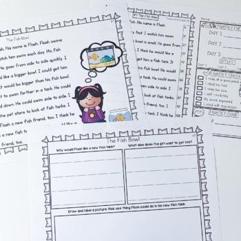 Fluency Passages: Set 1 & 2 Bundle- 1st, 2nd & 3rd Grade {Level E-P}