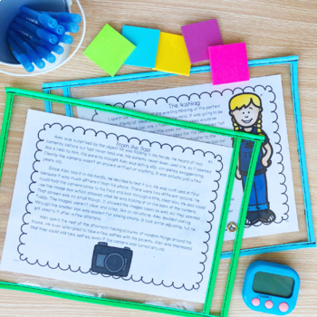 Fluency Passages: Set 1 & 2 Bundle- 3rd, 4th & 5th Grade {Level N-V}