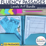 Fluency Passages: Set 1 & 2 Bundle-Kindergarten,1st, 2nd & 3rd Grade {Level A-P}