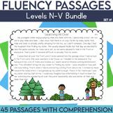 Fluency Passages: Set 1 Bundle- 3rd, 4th & 5th Grade {Level N-V}