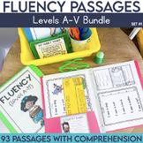 Fluency Passages: Set 1 Bundle- Kindergarten-5th Grade {Le