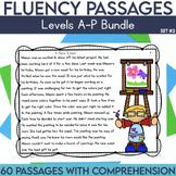 Fluency Passages Set 2 Bundle: Kindergarten, 1st, 2nd & 3r