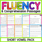 Short Vowels Fluency Passages | Short Vowels Worksheets