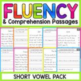 Short Vowels Fluency Passages | Short Vowels Worksheets