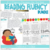 Fluency Passages and Comprehension Questions for the Year