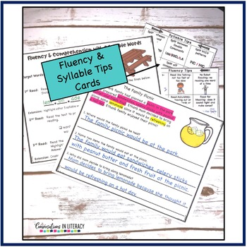Fluency Passages for Decoding Multisyllabic Words Open Syllable Closed & More-3