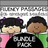 Fluency Passages for Early Readers BUNDLE Pack - Distance Learning Update