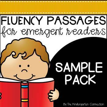 Fluency Passages for Early Readers - SAMPLER