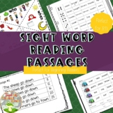 Fluency Passages for Sight Words
