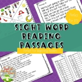 Fluency Passages for Sight Words {Set 2}